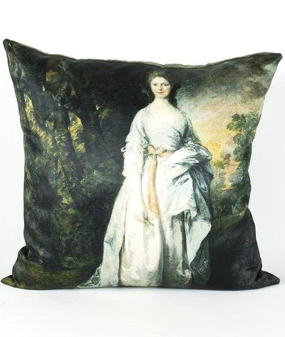 Kuddfodral Gainsboriughs Lady Eardley shabby chic lantlig stil