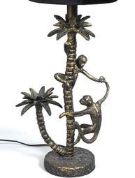 Lampfot bordslampa Tropik guld metall Shabby chic lantlig stil