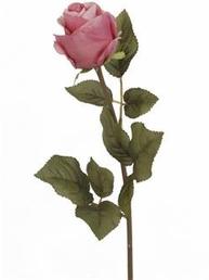 Rosa ros konstväxt shabby chic lantlig stil