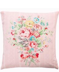 Kuddfodral Amelie Pale Pink greengate shabby chic lantlig stil