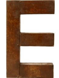 E - rostig i plåt 30 / 50cm