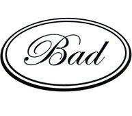 Klistermärke Bad shabby chic lantlig stil