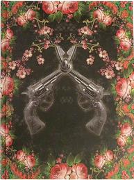 Anteckningsbok notebook Vintage Van Asch Make Peace not War shabby chic lantlig stil