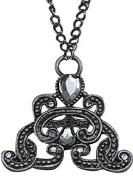 Hängande ornament typ markasit och  strass vintage antiksilver ornament shabby chic lantlig stil