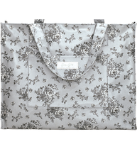Shopping bag Audrey Grey greengate shabby chic lantlig stil