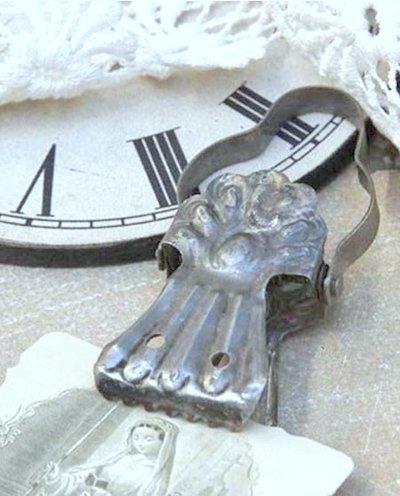 Klämma clips antik metall Jeanne d´Arc Living  shabby chic lantlig stil