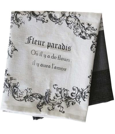 Kökshandduk handduk franskt tryck Chic Antique shabby chic lantlig stil fransk lantstil