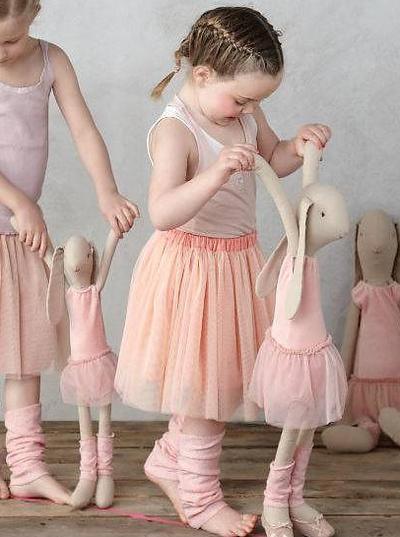 Tyllkjol ballerina flera storlekar för kanin flicka Maileg