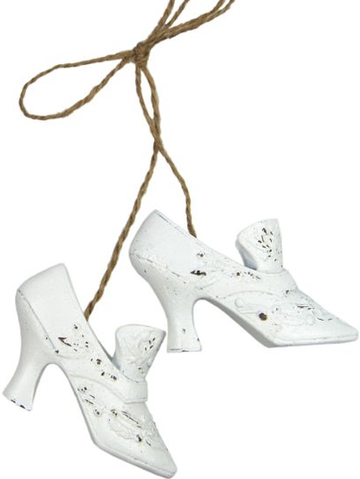 Rokoko vita skor prinsesskor dekoration shabby chic lantlig stil fransk lantstil