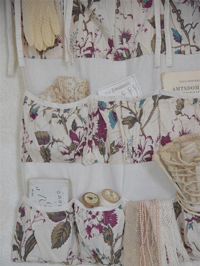 Väggförvaring Vintage Fleur flera fack Jeanne dArc Living  shabby chic lantlig stil fransk lantstil