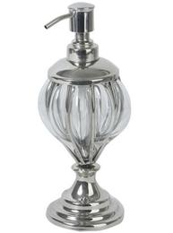 Tvålpump Exlusiv Glas Silver shabby chic lantlig stil
