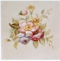 Handmålad tavla rosor nr 4 shabby chic lantlig stil