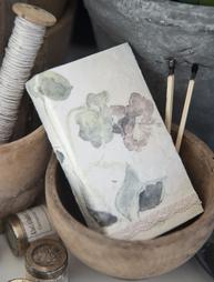 Tändsticksask handgjord långa stickor Jeanne d´Arc Living shabby chic lantlig stil