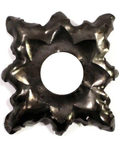 Ljusmanschett antikzink metall