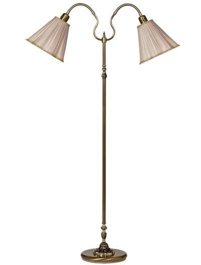 Lampskärm gammeldags plizzerad stor 4 färger Golvlampa Läslampa