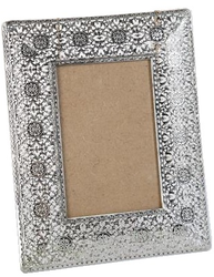 Fotoram silver Orient shabby chic lantlig stil