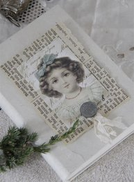 Anteckningbok Doll dockansikte Jeanne darc Living
