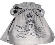 Lampkjol France linnebeige svart tryck shabby chic lantlig stil fransk lantstil