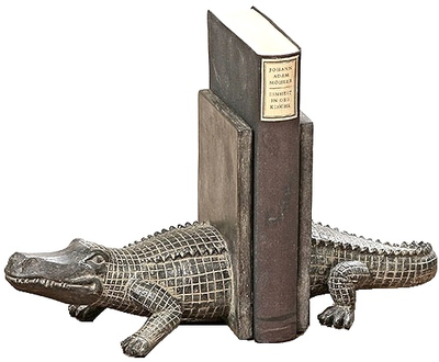 Bokstöd Alligator krokodil