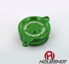 Holeshot, Lock till oljefilter, GRÖN, Kawasaki 11-12 KLX450, 06-18 KX450F