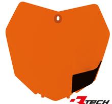 Rtech, Nummerplåt, ORANGE, KTM 13-15 450 SX-F, 13-16 250 SX, 13-15 250 SX-F, 13-15 350 SX-F, 13-15 125 SX/150 SX