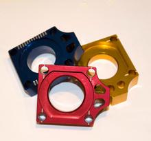 Holeshot, Axel block, BLÅ, Yamaha 03-08 YZ450F, 02-21 YZ250, 03-08 YZ250F, 02-21 YZ125