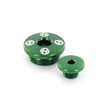Holeshot, Motorplugg, GRÖN, Kawasaki 08-12 KLX450, 19-20 KX450, 06-18 KX450F, 19-20 KX250, 11-18 KX250F