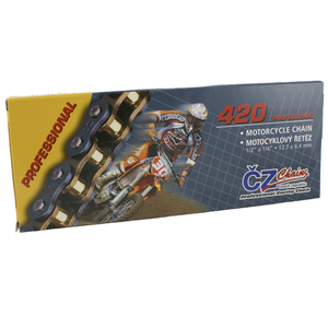 CZ Chains, Kedja MX, 130 Länkar, Professional, 420