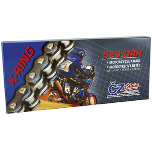 CZ Chains, Kedja ORH, 118 Länkar, X-Ring, 520