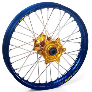 """Haan Wheels, Komplett Hjul, 1,40, 17"""", FRAM, BLÅ GULD, Honda 07-21 CRF150R"""
