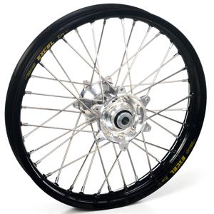 """Haan Wheels, Komplett Hjul, 1,40, 19"""", FRAM, SVART SILVER, Honda 07-21 CRF150R"""
