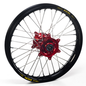 """Haan Wheels, Komplett Hjul, 1,85, 16"""", BAK, SVART RÖD, Honda 07-21 CRF150R"""