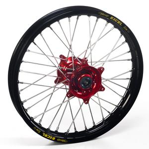 """Haan Wheels, Komplett Hjul SM, 5,00, 17"""", BAK, SVART RÖD, Honda 02-12 CRF450R, 04-13 CRF250R"""