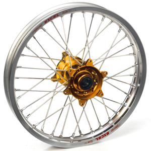 """Haan Wheels, Komplett Hjul, 1,85, 19"""", BAK, SILVER GULD, Honda 04-13 CRF250R, 02-07 CR125R"""