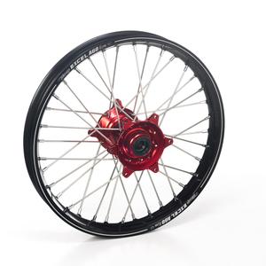 """Haan Wheels, Komplett Hjul A60, 2,15, 19"""", BAK, SVART RÖD, Honda 02-12 CRF450R, 02-07 CR250R"""