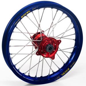 """Haan Wheels, Komplett Hjul, 2,15, 19"""", BAK, BLÅ RÖD, Honda 02-12 CRF450R, 02-07 CR250R"""