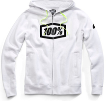 100%, SYNDICATE ZIP HOODED SWEATSHIRT, VUXEN, M, VIT