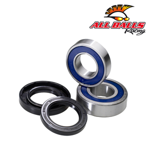 All Balls, Hjullagersats Fram, Kawasaki 08-09 KLX450, 06-18 KX450F, 93-07 KX250, 19-20 KX250, 04-18 KX250F, 93-05 KX125, 03-04 KLX400 SR, R, 94-03 KX500, Suzuki 96-00 RM250, 04-06 RM-Z250, 96-00 RM125, 00-10 DR-Z400