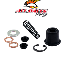 All Balls, Bromscylinder Rep. Kit Bak, Honda 87-01 CR250R, 90-95 XR250R, 87-01 CR125R/CR500R, 03-07 CR85R, 92-02 CR80R, 96-04 XR400R, 91-99 XR600R, 00-07 XR650R, Kawasaki 08-09 KLX450, 19-20 KX450, 06-18 KX450F, 88-90 KX250, 94-07 KX250, 19-20 KX250, 04-1