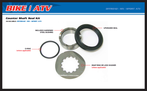 All Balls, Framdrev Axel Rep. Kit, KTM 04-21 85 SX, Husqvarna 14-17 TC 85 (17/14)/TC 85 (19/16)