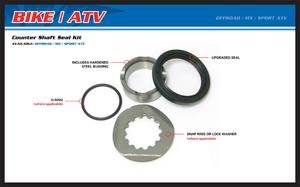 All Balls, Framdrev Axel Rep. Kit, Kawasaki 01-04 KX85, 00-04 KX65, 83-03 KX60, 95-04 KX100, 91-00 KX80, Suzuki 03-05 RM65