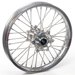 """Haan Wheels, Komplett Hjul, 1,60, 21"""", FRAM, SILVER, Kawasaki 06-18 KX450F, 06-08 KX250, 19-20 KX250, 06-18 KX250F, 06-08 KX125"""