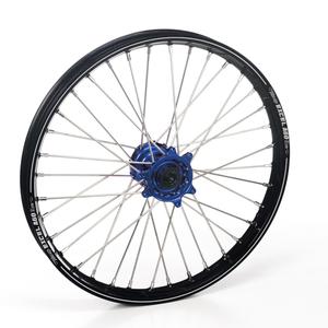 """Haan Wheels, Komplett Hjul A60, 1,60, 21"""", FRAM, SVART BLÅ, Kawasaki 06-18 KX450F, 06-08 KX250, 19-20 KX250, 06-18 KX250F, 06-08 KX125"""