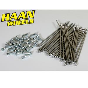 """Haan Wheels, Ekersats (OEM), 17"""", FRAM, Kawasaki 01-20 KX85, 88-00 KX80"""