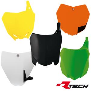 Rtech, Nummerplåt, VIT, Suzuki 02-20 RM85