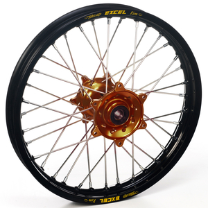 """Haan Wheels, Komplett Hjul, 1,85, 19"""", BAK, SVART BRONS, Kawasaki 19-20 KX450, 06-18 KX450F, 03-08 KX250, 19-20 KX250, 04-18 KX250F, 03-08 KX125"""