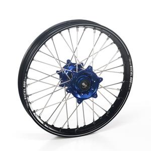 """Haan Wheels, Komplett Hjul A60, 2,15, 19"""", BAK, SVART BLÅ, Kawasaki 19-20 KX450, 06-18 KX450F, 03-08 KX250, 19-20 KX250, 04-18 KX250F, 03-08 KX125"""