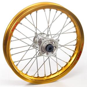 """Haan Wheels, Komplett Hjul, 2,15, 19"""", BAK, GULD SILVER, Kawasaki 19-20 KX450, 06-18 KX450F, 03-08 KX250, 19-20 KX250, 04-18 KX250F, 03-08 KX125"""