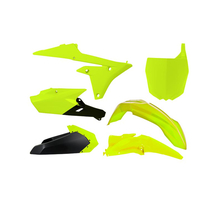Rtech, Plastkit, NEON GUL, Yamaha 14-17 YZ450F, 14-18 YZ250F