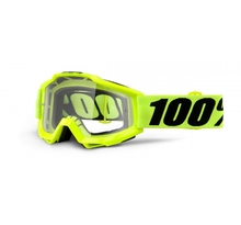 100%, ACCURI FLUO YELLOW - CLEAR LENS, VUXEN